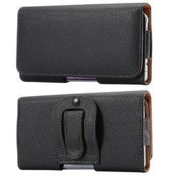 Man bag hook online shopping - Universal inch Men Waist Packs Phone Pouch Bags Hook Loop Belt Clip Case Waist Bag Litchi Grain Mobile Phone Bags
