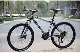 $enCountryForm.capitalKeyWord NZ - Adults mountain bike 21 speed High Carbon frame Gear shift 26 Inch shock absorber Double Disc Brakes Bicycles Road Cycling Riding