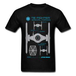 b8a4d05db Black Shirt White Tie Men NZ - Special Forces T Shirt Men Cotton Tshirts  Wholesale Discount
