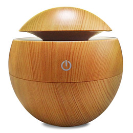 Original Aroma Essential Oil Diffuser 130ML Aromatherapy Cool Mist Humidifier Changing LED Lights USB Air Purifier Free Shipping NB on Sale