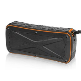 Portable radio batteries online shopping - Waterproof Wireless Bluetooth Speaker Mini Outdoor Portable Subwoofers mAh Battery IP66 Support TF Card USB Handsfree
