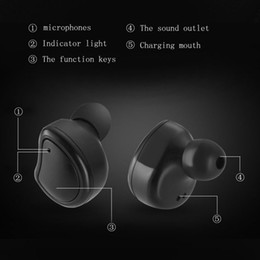 $enCountryForm.capitalKeyWord Canada - BT01 Bluetooth Headset bluetooth headphones Headset wireless earbuds wireless headset IOS iphone X 7 8 Android earpuds cuffie bluetooth