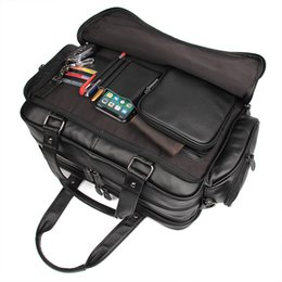 "$enCountryForm.capitalKeyWord Canada - Nesitu Large Capacity Big Size Genuine Leather Men Briefcase Portfolio Messenger Bags 15.6"" Laptop Business Travel Bag M7150"