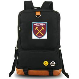 e53d5d1bd789 West Ham rucksack United day pack London football club school bag Soccer  packsack Laptop backpack Sport schoolbag Outdoor daypack