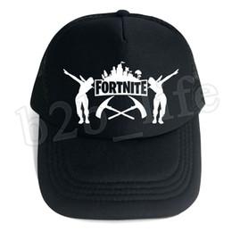 83caa49e6ac 10pcs Fortnite Cap man baseball cap male snapback summer Breathable hats  bone man hip hop hat for women funny Quick drying caps MMA183
