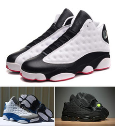 c41e8f4343b144 He Hot Game 13s Italy Blue 13s OG Sneakers 13 GS Black CA Anthracite BLACK  With Box Best Quality Wholesale Basketball Shoes Men