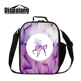 3409a793eb37 Thermal Lunchbox Food Picnic Bags For Children Cute Unicorn Printing  Insulated Lunch Bags For Students Girls Boys lovely Small School Cooler