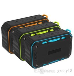 Usb Hook UK - Outdoor IP65 Waterproof Bluetooth Speaker Wireless Mini Portable Handsfree Subwoofer Support TF Card FM Radio Aux with Hook Retail Box