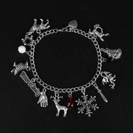 Harry Bracelet NZ - Movie bracelet harry bracelet Sailor moon Hallows hat owl potter bracelets Women Girls Fans Game of Thrones X men Bangle