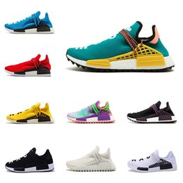 430aafcaefc2 Cheap Originals Human Race running shoes mens Pharrell Williams designer  sneakers womens HU NMD trail chaussures With Box size 36-45