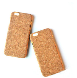 Iphone Low NZ - China Factory Low Price Cork Case Wood Phone Case For iphone X 10 7 8 6S 6 Plus Hot sale Style Cell phone Cover Wood Case Cork For Iphone