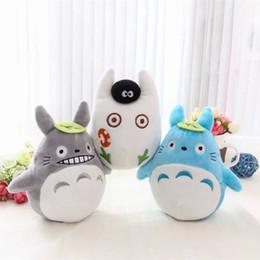 Miyazaki Plush Toys NZ - Cute 15cm Totoro Plush Japanese Anime Miyazaki Hayao My Neighbor Totoro Stuffed Plush Toys Doll for Kids Children Christmas Gift