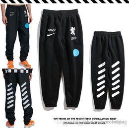mens full length yoga pants 2018 - 2018 new arrival mens letter decoration sweatpants designer pants luxury men yoga joggers track loose pants cheap mens f