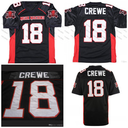 Discount longest yard - Mean Machine Sandler #18 Paul Crewe The Longest Yard Football Movie Jersey Black S-XXXL Stitched Top Quality