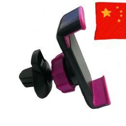 Portable base online shopping - Portable Mobile Phone Bracket Base Mini Car Mount Air Vent Safe Phones Holder Easier Safer Driving New Arrival yjww