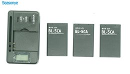 batteries bl 5c 2019 - 3x BL-5CA BL-5C Phone Battery + LCD Charger For Nokia 1000  1010  1100  1108  1110  1111  1112  1116  1200  1208  1209
