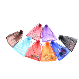 Christmas Jewelry Sales NZ - Hot sale!500pcs lot Organza Bags 15x20cm Drawable Wedding Packing Nice Gift Bag Party Jewelry Bags Pouches Christmas Bags Colorfuldecoration