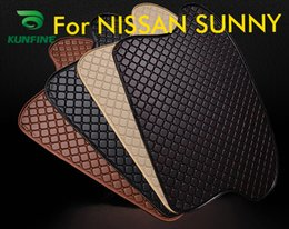 Trunk Liner Carpet Australia - Car Styling Car Trunk Mats for NISSAN SUNNY Trunk Liner Carpet Floor Mats Tray Cargo Liner Waterproof 4 Colors Opitional