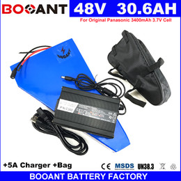 Motor Bicycles Australia - BOOANT 48V 30AH For Bafang 1800W Motor E-Bike Lithium Battery 48V Electric Bicycle Battery +5A Charger 50A BMS no Tax to US EU