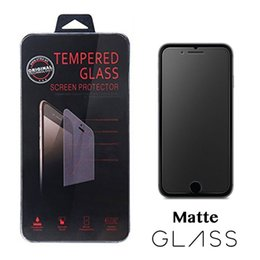 Wholesale 2 D Anti Glare Matte Frosted Tempered Glass Screen Protector Film for iPhone X Xr Xs Max with Retail Box