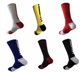 Discount college basketball usa - 2018 USA Professional Elite Basketball Socks Long Knee Athletic Sport Socks Men Fashion Compression Thermal Winter Men&#