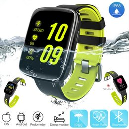 $enCountryForm.capitalKeyWord NZ - GV68 Smart Watch IP68 waterproof MTK2502 Bluetooth 4.0 Sport Watch Support Pedometer Heart Rate test for iPhone Android