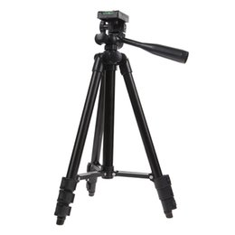 professional camcorder tripods UK - wholesale Professional Travel Camera Tripod Unfolded(1020mm) With Tilt Pan Head Carry Bag For Digital DSLR Camera Camcorder Video