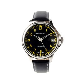 $enCountryForm.capitalKeyWord Canada - Seagull 44mm Dial Automatic Chinese Big Pilot Watch Commander Arabic Numerals With Date Sea-gull D819.552