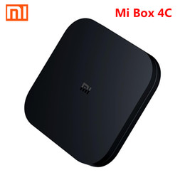 Android 4.4 hdmi tv box online shopping - Original XIAOMI Mi Box C Android TV BOX Amlogic Cortex A53 Quad Core bit GB GB K HDR TV Box DTS HD G WiFi HDMI