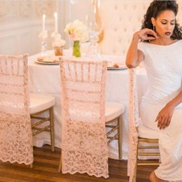 $enCountryForm.capitalKeyWord Australia - Lace New Arrival Wedding Chair Covers Bridal Decorations 2018 Populay Custom Made DIY Vintage Wedding Supplies