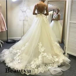 $enCountryForm.capitalKeyWord Australia - Sexy Backless Plus Size Wedding Dresses 2018 Vintage Lace Tulle V Neck Sweep Train Cheap Country Beach Bridal Gowns Vestido de novia