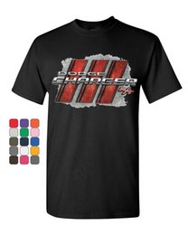 $enCountryForm.capitalKeyWord NZ - Dodge Charger R T T-Shirt American Muscle Car Cotton Tee Tee Shirt Men Factory Wholesale Short Sleeve Crewneck Cotton Big Size Team Tee