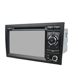a4 mp3 NZ - Car DVD player for Audi A4 7Inch Andriod 6.0 with GPS,Steering Wheel Control,Bluetooth, Radio,2GB RAM