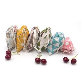 $enCountryForm.capitalKeyWord NZ - Cheap Cotton 9x12cm Hgih Quality Wedding Candy Gift Favors Drawstring Bags Jewelry Cosmetic Nice Storage Pouches