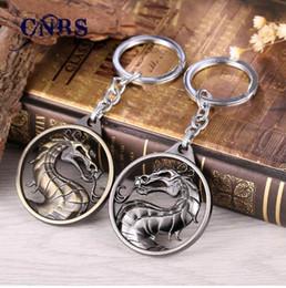 $enCountryForm.capitalKeyWord NZ - Dragon Keychain Hot Game Mortal Kombat Key Ring Metal Key Holder For Gift Chaveiro Key chain Jewelry for cars