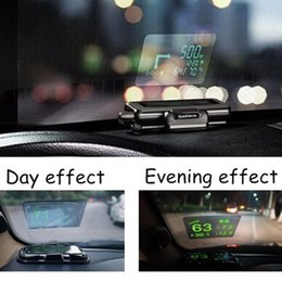 Head Hud online shopping - Universal Car Auto HUD Head Up Display Reflective Film Protector No Mucilage Easy Removed
