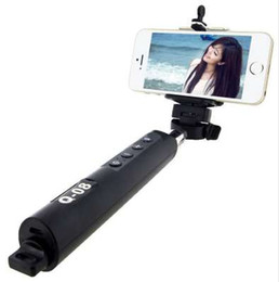 selfie stick monopod zoom Canada - Universal Luxury Mini Bluetooth Extendable Handheld Selfie Stick Monopod With Zoom For Iphone For Samsung Android Camera Wired