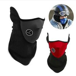 motocicleta equitação balaclava à prova de poeira esportes máscara moto bicicleta à prova de vento máscara metade do rosto quente mascarar respirável manter aquecido em Promoção