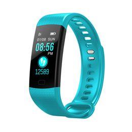 $enCountryForm.capitalKeyWord UK - OGEDA Sport Bracelet Watch Women Men LED Waterproof Smart Wrist Band Heart rate Blood Pressure Pedometer Clock For Android iOS Y1892508