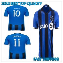 0f6916555 2018 Montreal Impact BEST QUALITY THAsoccer Jersey Home blue 2019 PIATTI 10  DROGBA 11 EDWARDS 14 18 19 football shiirts camiseta de fUtbol