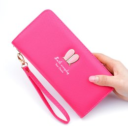 $enCountryForm.capitalKeyWord NZ - wallet, lady long, large capacity wallet, hand bag fashion rabbit ear student zipper mobile phone manufacturer straight