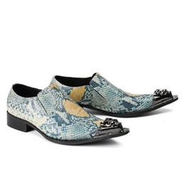 $enCountryForm.capitalKeyWord UK - Fashion Handmade Men Espadrilles Dress Shoes Metal Chain Wedding Office Shoes Men Casual Shoes Colorful Flat size 38-46