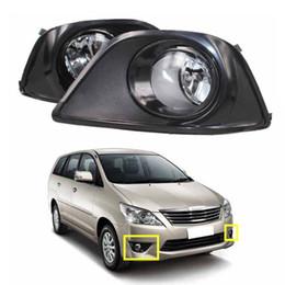 $enCountryForm.capitalKeyWord NZ - Car Fog Lights for TOYOTA INNOVA 2012 Clear Halogen bulb H11-12V 55W Front Fog Lights Bumper Lamps Kit