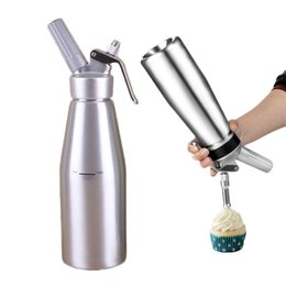 Kitchen Decorators Australia - 18oz Cream Bottles Whipper Foamer Gun Butter Dispenser Coffee Dessert Cake Bake Tools Christmas Decoration Kitchen Gadgets