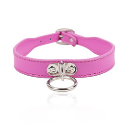 $enCountryForm.capitalKeyWord Australia - Soft PU Leather Dog Collar Slave Bondage Restraint Belt In Adult Games For Couples Fetish Erotic Sex Toys For Women