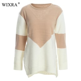 spring sweaters for women 2019 - Wixra Pullovers Sweater O-Neck Casual Loose Pretty Sweaters Knitting Spring Autumn Winter For Women Women's Clothin