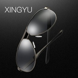 d58ede40f57e XINGYU 2018 Men Brand Sunglasses HD Polarized Glasses Men Brand Polarized  Sunglasses High quality With Original Case