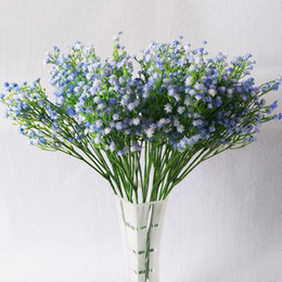 Shop outdoor artificial plant wholesalers uk outdoor artificial gypsophila home decor artificial flower wedding party decoration real touch flowers diy home garden plants hand bouquets mightylinksfo