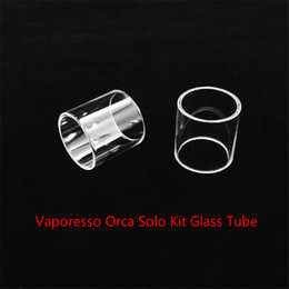 Buy cheap online shopping - Vaporesso Orca Solo Kit Replacement Glass Tube With DHL buy cheap Vaporesso Orca Solo Kit Tank Glass tube