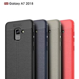 S6 pattern caSe online shopping - Rugged Armor tpu Case FOR Samsung Galaxy s6 s6 edge s7 s7 edge A5 A7 A8 A8 PLUS Anti Shock Absorption Leather Litchi pattern